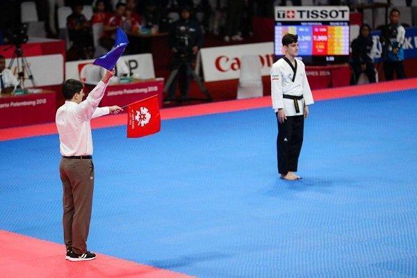اولین مدال کاروان ورزش ایران بدست آمد، تکواندو چراغ اول راروشن کرد