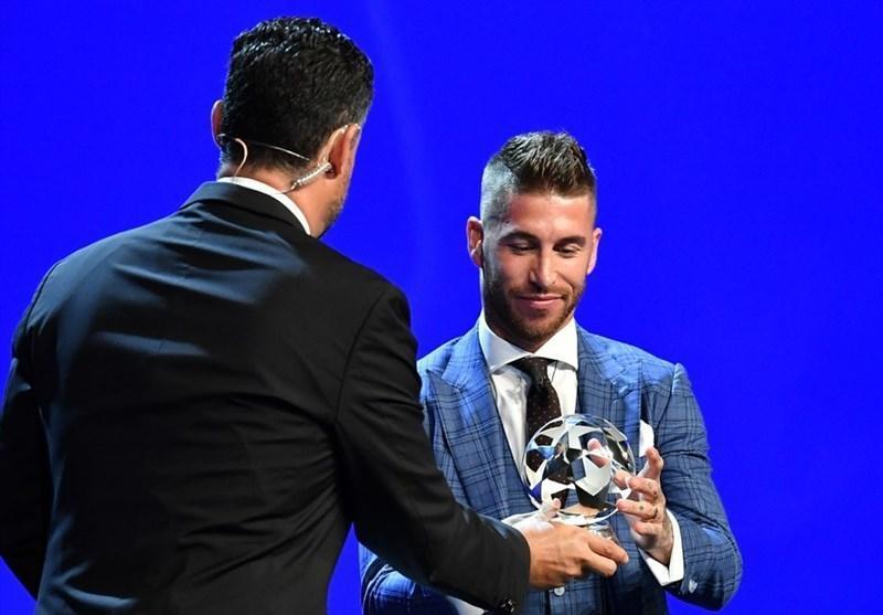 راموس بهترین مدافع فصل گذشته لیگ قهرمانان لقب گرفت