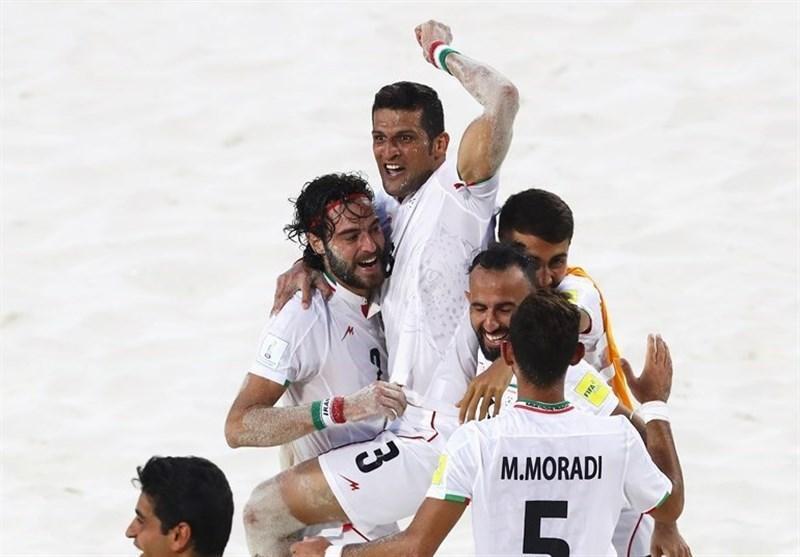 تیم ملی فوتبال ساحلی ایران در رتبه نخست آسیا و سوم دنیا