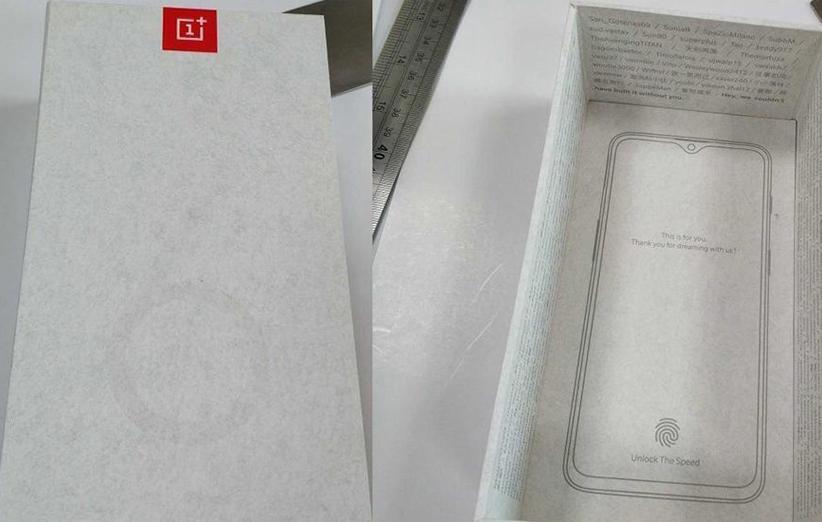 اولین عکس از وان پلاس 6T با بریدگی کوچک نمایشگر منتشر شد