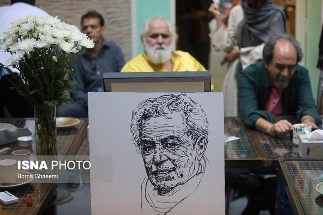 خاطرات محسن وزیری مقدم از زبان هنرمندان نقاش