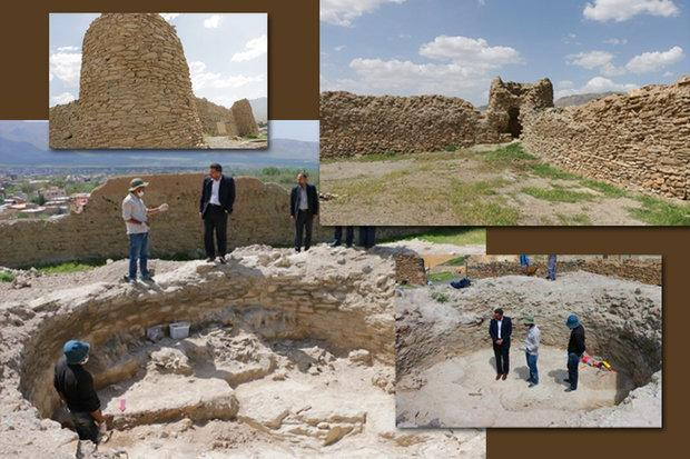 دخمه باستانی تپه قلعه خلچان تفرش ساماندهی می گردد