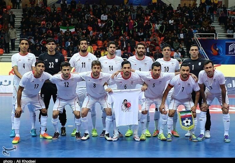 اعلام جدیدترین رده بندی تیم های ملی فوتسال، تیم ایران همچنان در رده ششم دنیا