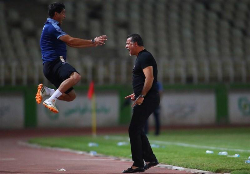 بهزاد غلامپور: مقابل نفت مسجدسلیمان دو نیمه متفاوت داشتیم، در تمام بازی ها شادی ام را با دایی تقسیم می کنم