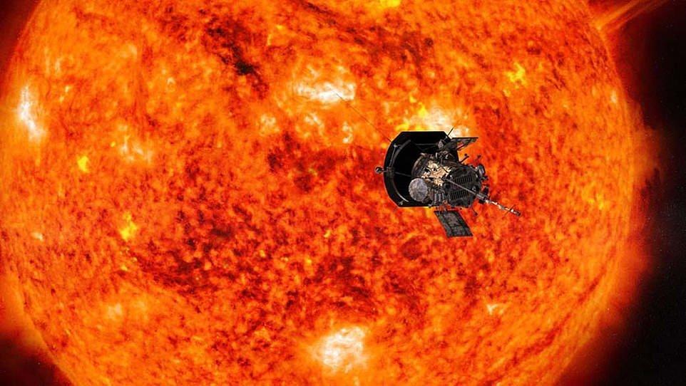 کاوشگر پارکر ناسا به 43 میلیون کیلومتری خورشید رسید