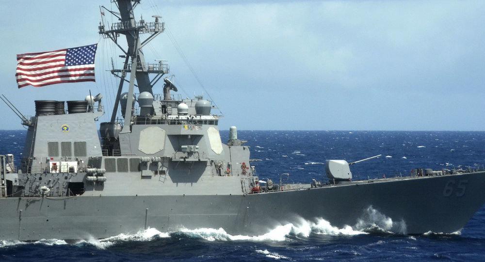 واکنش پکن به مانور کشتی های آمریکایی در دریای چین