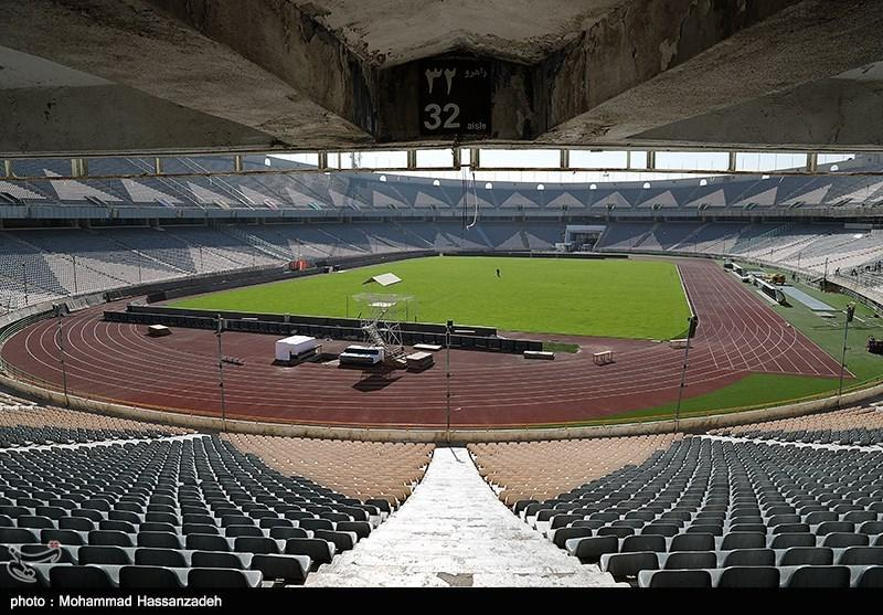 خوش آمدگویی به کاشیما آنتلرز در رختکن و بازدید وزیر ورزش از استادیوم آزادی