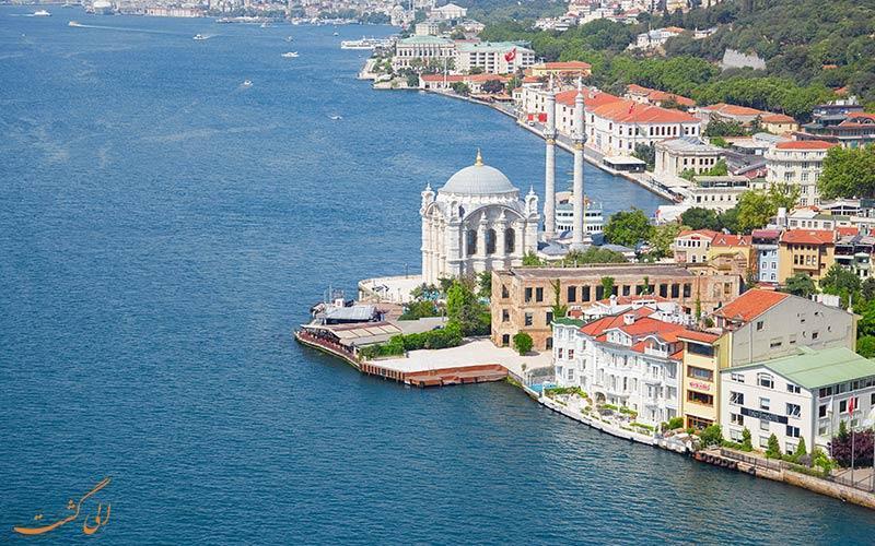 آشنایی با جاذبه های تنگه بسفر در استانبول