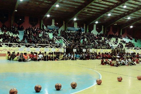 مسابقات جام شهر پاک در یاسوج شروع شد، حضور 56 تیم در مسابقات
