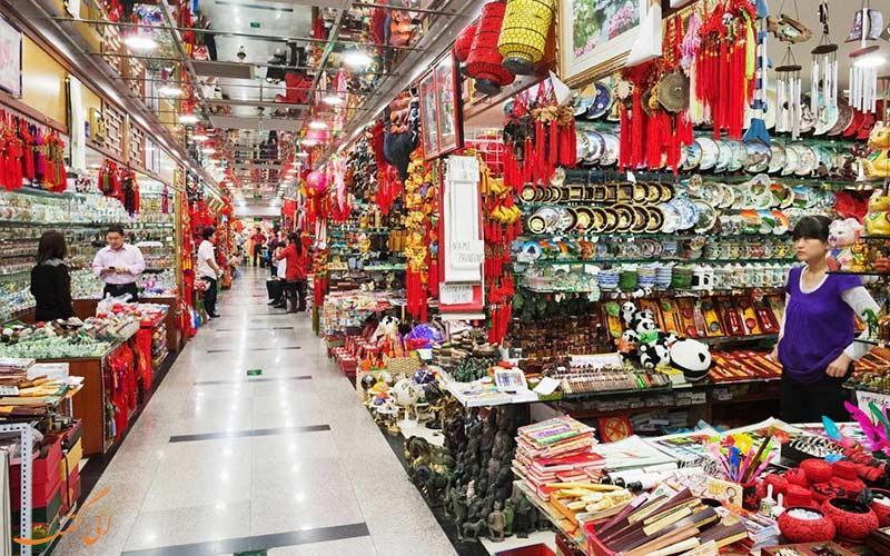 نحوه خرید مروارید و ابریشم در سفر به چین