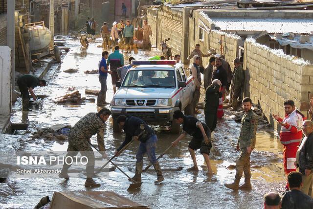 اعزام کاروان امدادی شهرداری تهران به مناطق سیل زده خراسان شمالی