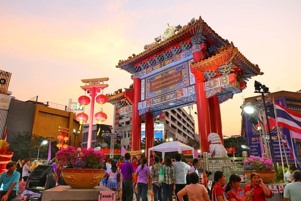 مرکز خرید محله چینی ها در بانکوک تایلند