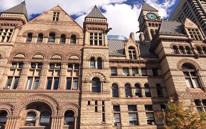 این بنای معروف زمانی شهرداری تورنتو کانادا بوده است!