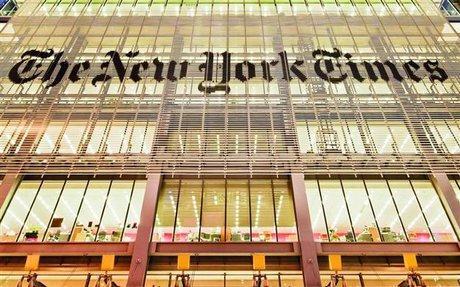 نیویورک تایمز: اتهام زنی ترامپ به مطبوعات اقدامی خطرناک است