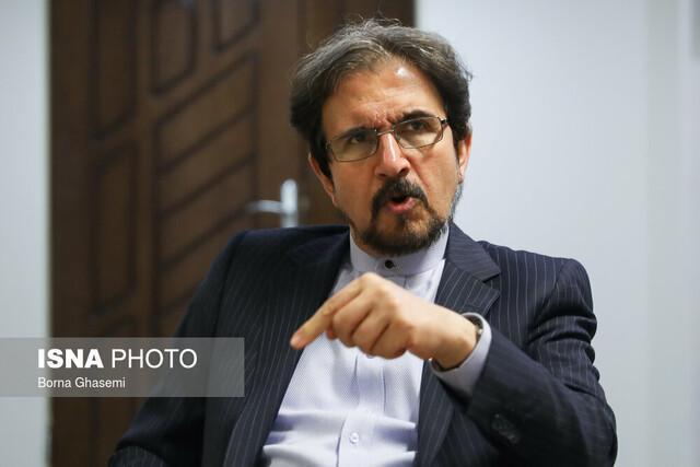 بهرام قاسمی: راستا دیپلماسی و گفت وگو از پایه های سیاست خارجی ایران است