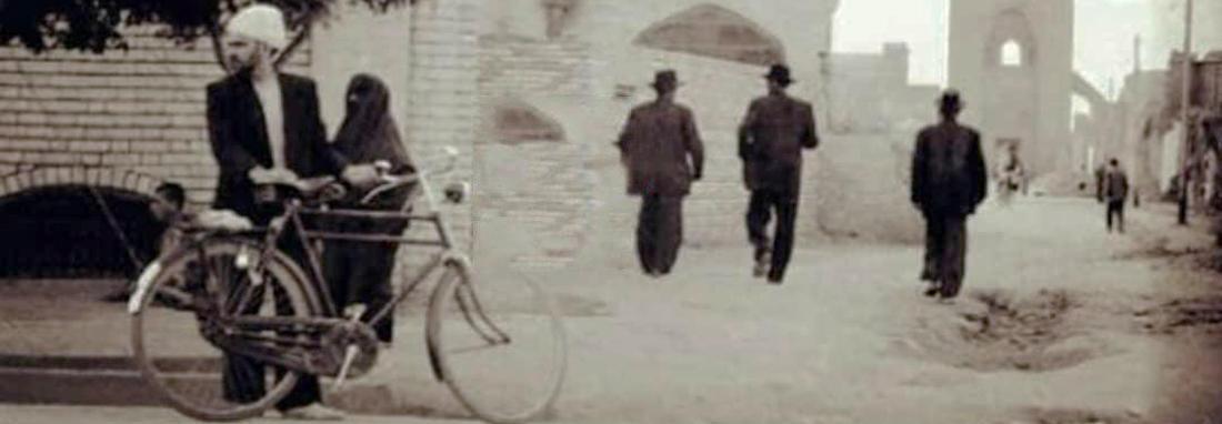 مسجد جامع یزد در ایام قدیم ، عکسی خاص از این اثر تاریخی را ببینید