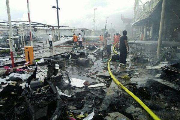دو انفجار در تایلند 50 مجروح در پی داشت، وخامت حال 2 نفر