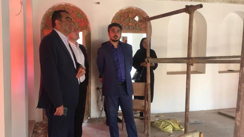 بازدید مدیرعامل صندوق احیا از ابنیه تاریخی استان مازندران