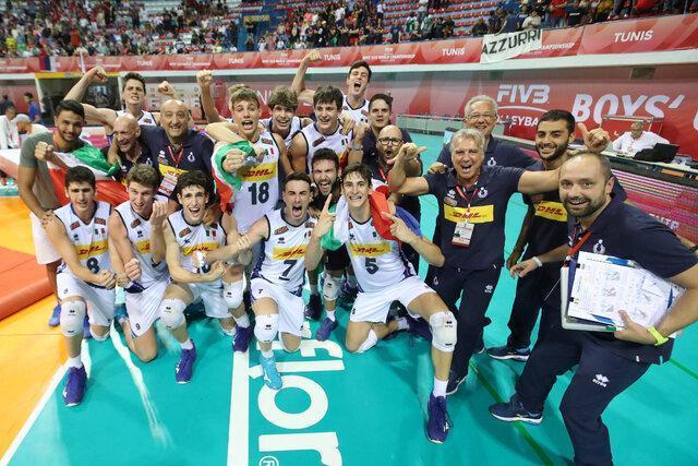 ایتالیا قهرمان والیبال نوجوانان دنیا شد