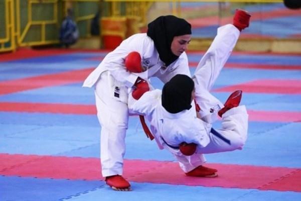 درخشش تیم کیوکوشین کاراته بانوان اداره کل میراث فرهنگی کرمان در مسابقات قهرمانی کشور
