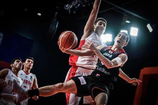پیروزی تیم بسکتبال جوانان ایران برابر نماینده یونان