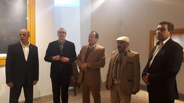 بازدید سفیر اتریش از موزه باستان شناسی شوش