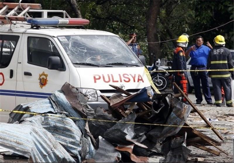 زخمی شدن 7 نیروی پلیس براثر انفجار بمب در اندونزی