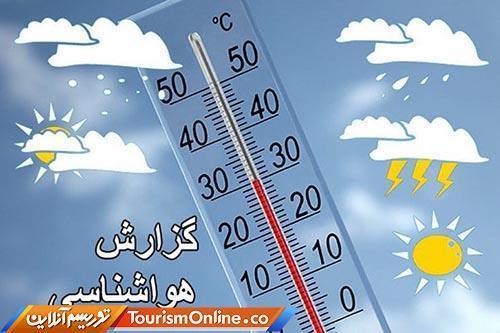 پیش بینی بارش باران برای سواحل دریای خزر، آسمان تهران صاف است