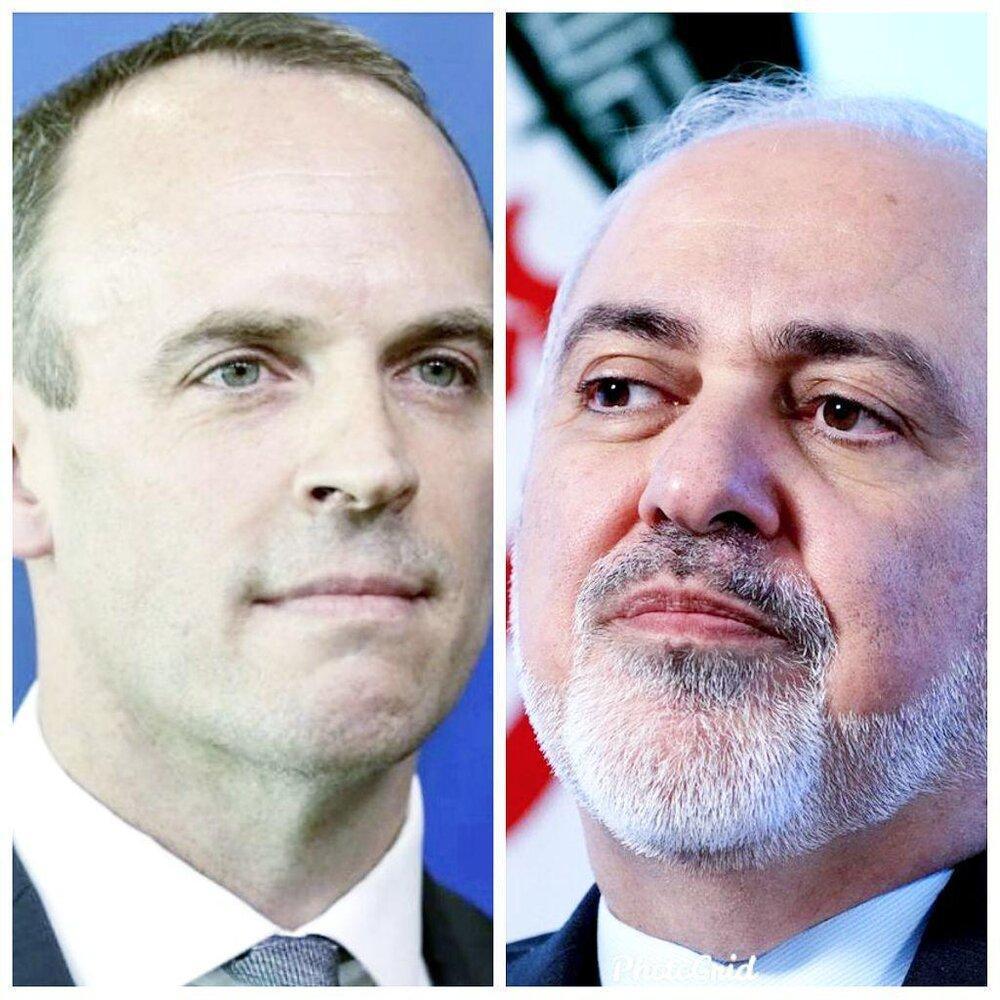 وزیر خارجه انگلیس با ظریف تلفنی گفت وگو کرد