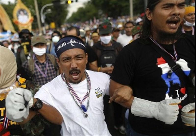 فرصت یک ساعته مخالفان دولت تایلند برای تخلیه ساختمان وزارت کشور