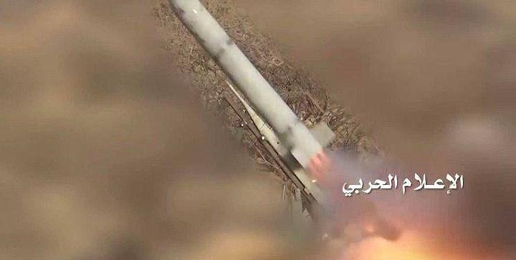 شلیک موشک بالستیک به مواضع ائتلاف سعودی در شمال غرب یمن