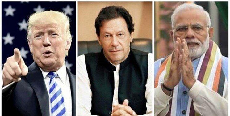 ترامپ بار دیگر برای میانجی گری بین هند و پاکستان اعلام آمادگی کرد