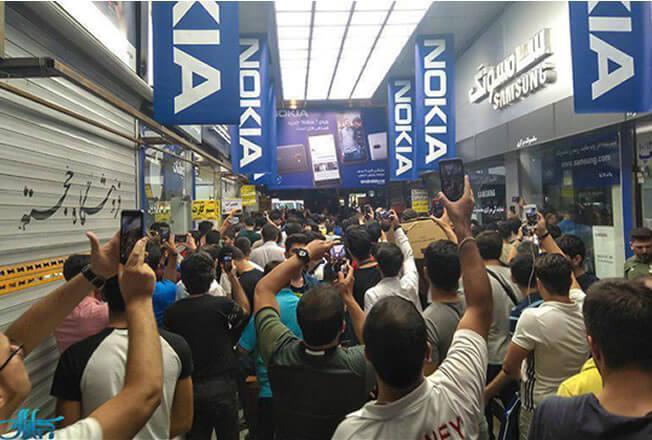 چرا فروشندگان تلفن همراه اعتصاب کردند؟