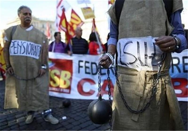اعتصاب کارکنان برج مراقبت خطوط هوایی ایتالیا پروازهای انگلیس را مختل کرد