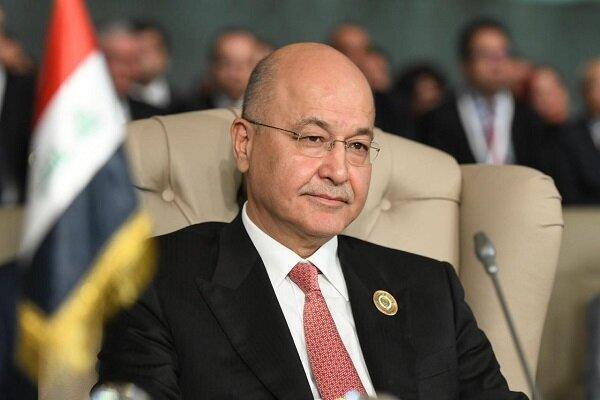واکنش رئیس جمهوری عراق به تظاهرات روز گذشته در این کشور