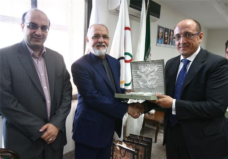 رئیس فدراسیون ووشوی ایتالیا با شهنازی دیدار کرد