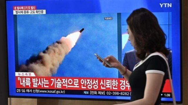 کره شمالی باز هم موشک شلیک کرد