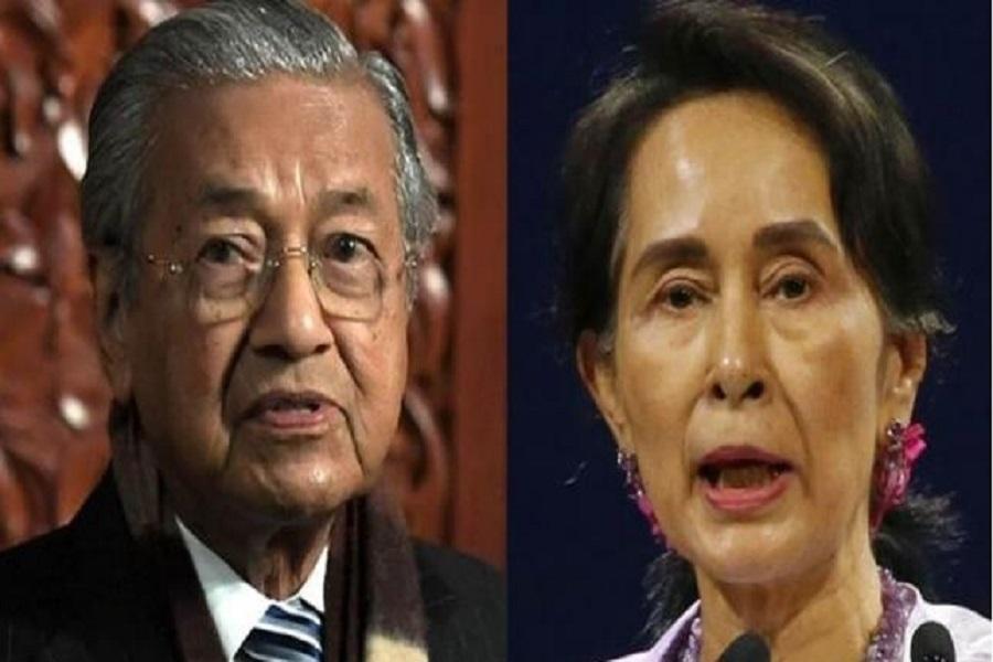 ماهاتیر محمد: مالزی دیگر از رهبر میانمار حمایت نمی کند