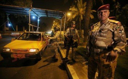 بازگشت آرامش به بغداد ، لغو مقررات منع آمد و شد در نجف