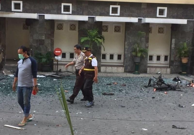 دو کودک عامل انفجار انتحاری در اندونزی