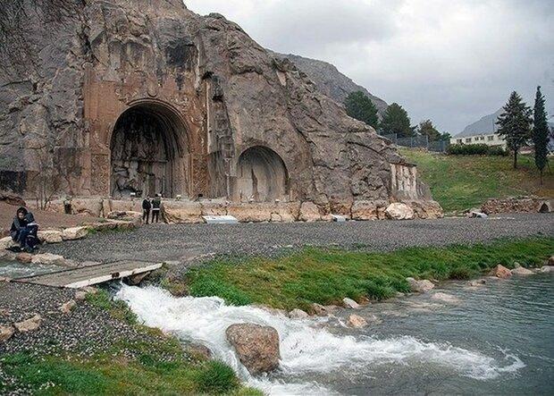 شروع مطالعه حفاظت از طاق بستان ، نقش برجسته های ساسانی زیر ذره بین مرمت گران