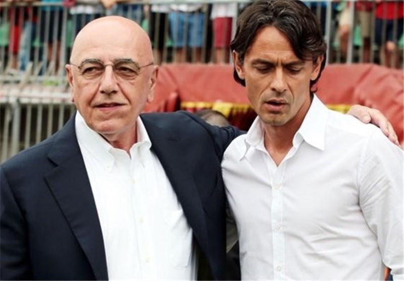 باشگاه میلان: اینزاگی به کارش ادامه می دهد