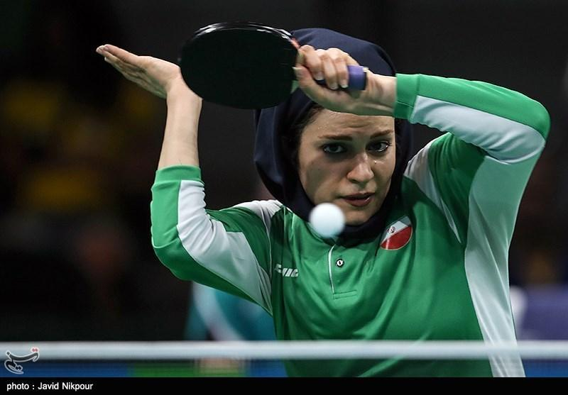 شکست تیم پینگ پنگ بانوان ایران مقابل مالزی
