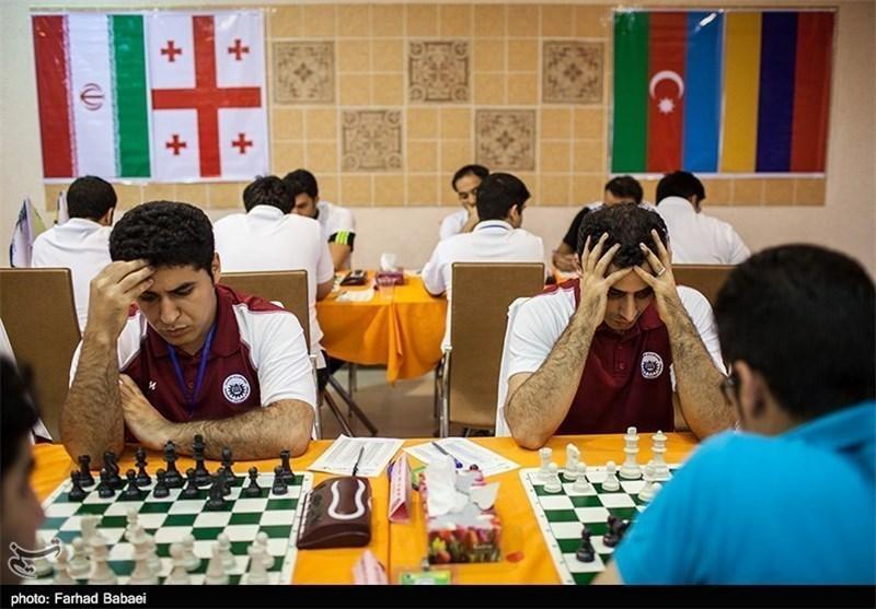 صدرنشینی استادان شطرنج ارمنستان و ایتالیا در دور هفتم جام ابریشم گیلان