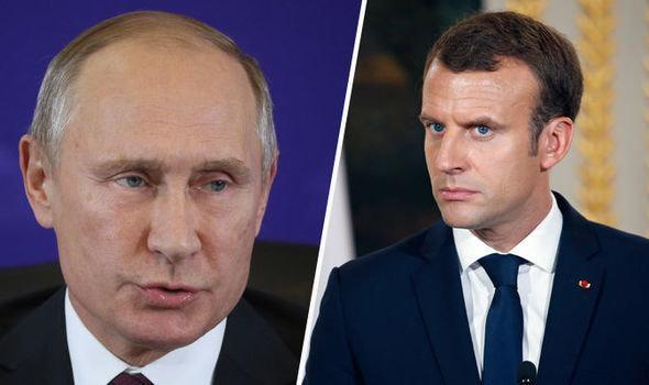 رایزنی تلفنی رؤسای جمهور روسیه و فرانسه با موضوع وضعیت شمال شرق سوریه