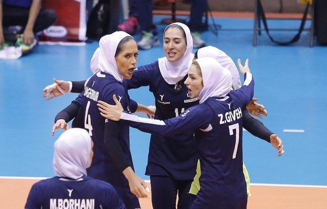 برنامه رقابت های والیبال جام کنفدراسیون زنان آسیا