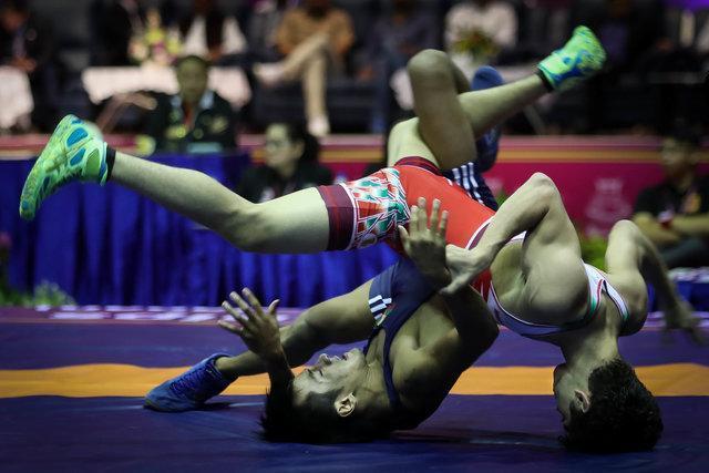 راهیابی 5 آزادکار نوجوان ایران به فینال قهرمانی آسیا