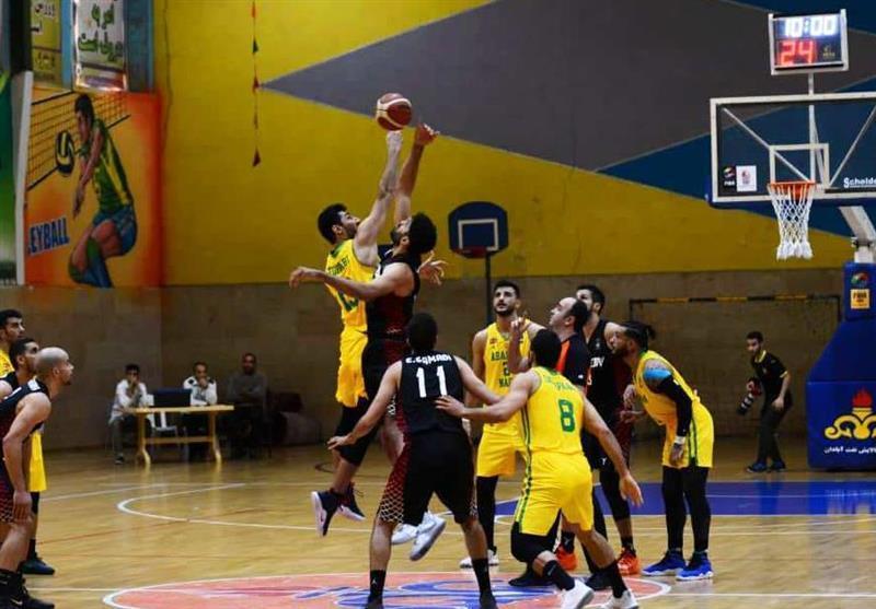 لیگ برتر بسکتبال، رویارویی مهرام و گرگان در آزادی