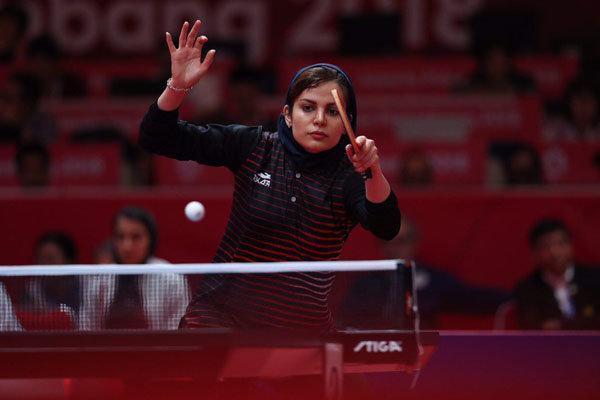 حضور بانوان پینگ پنگ باز ایران در مسابقات اوپن فنلاند