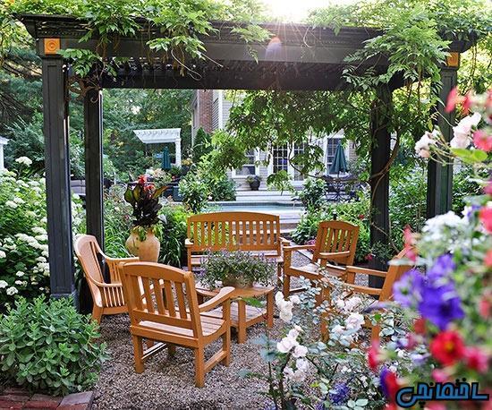 جذاب ترین ایده های طراحی فضای بیرون منزل